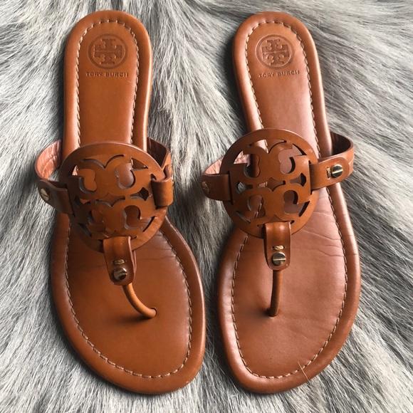 5e2a4e013043 Tory Burch Miller Vintage Tan Sandals 8. M 5c6f2166f63eead1405758d8
